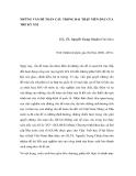 """Nghiên cứu triết học """" NHỮNG VẤN ĐỀ TOÀN CẦU TRONG HAI THẬP NIÊN ĐẦU CỦA THẾ KỶ XXI """""""