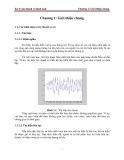 Bài giảng xử lý âm thanh và hình ảnh-p2