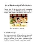 Bốn sai lầm của mẹ khi chế biến thức ăn cho bé