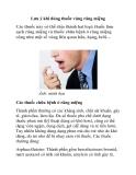 Lưu ý khi dùng thuốc vùng răng miệng