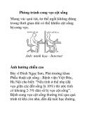 Phòng tránh cong vẹo cột sống