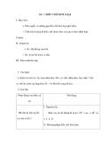 Bài 7: ĐIỀU CHẾ KIM LOẠI