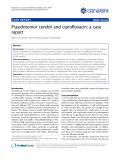 """Báo cáo y học: """" Pseudotumor cerebri and ciprofloxacin: a case repor"""""""