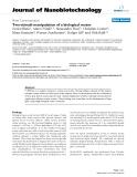 "báo cáo khoa học: "" Two-stimuli manipulation of a biological motor"""