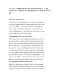 """Nghiên cứu triết học """" VAI TRÒ CỦA KHOAN DUNG TÔN GIÁO VÀ ĐOÀN KẾT XÃ HỘI TRONG VIỆC KIẾN TẠO NỀN HOÀ BÌNH VÀ GIỮ VỮNG ỔN ĐỊNH XÃ HỘI """""""