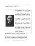 """Nghiên cứu triết học """" GIỚI THIỆU DANH NHÂN TRIẾT HỌC - ALFRED NORTH WHITEHEAD NHÀ SIÊU HÌNH HỌC CỦA THẾ KỶ XX """""""