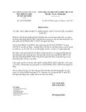 Thông báo số 3653/TB-BHXH
