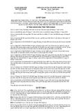 Quyết định số 37/2011/QĐ-UBND