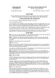 Quyết định số 3644/2011/QĐ-UBND