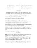 Thông tư số 31/2011/TT-BTTTT