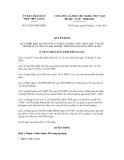 Quyết định số 35/2011/QĐ-UBND