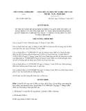 Quyết định số 63/2011/QĐ-TTg