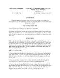 Quyết định số 1951/QĐ-TTg