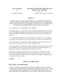 Thông tư số 169/2011/TT-BTC