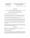 Quyết định số 1662/QĐ-UBND
