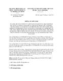 Thông tư liên tịch số 190/2011/TTLT-BQPBLĐTBXH-BTC