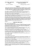 Thông tư số 31/2011/TT-BLĐTBXH