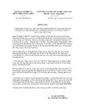 Thông báo số 5432/TB-BNN-VP