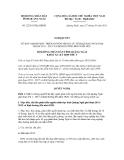 Nghị quyết số 22/2011/NQ-HĐND