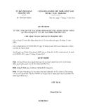 Quyết định số 1909/QĐ-UBND
