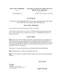 Quyết định số 2058/QĐ-TTg