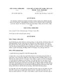 Quyết định số 62/2011/QĐ-TTg