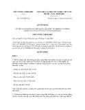 Quyết định số 1935/QĐ-TTg