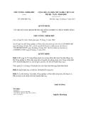 Quyết định số 2096/QĐ-TTg