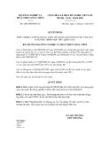 Quyết định số 2828/QĐ-BNN-TC