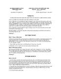 Thông tư số 80/2011/TT-BNNPTNT