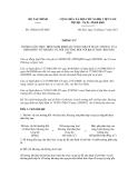 Thông tư số 158/2011/TT-BTC