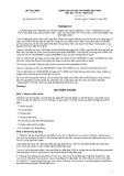 Thông tư số 155/2011/TT-BTC
