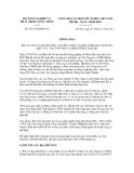 Thông báo số 5561/TB-BNN-VP