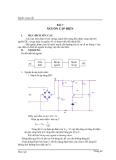 Bài 7: Nguồn cáp điện