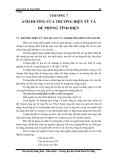 Giáo án an toàn điện-chương 7: Ảnh hưởng của trường điện từ và đề phòng tĩnh điện