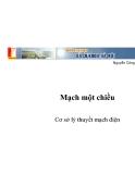 Nguyễn Công Phương ĐHBKHN_Cơ sở lý thuyết mạch điện: Mạch một chiều