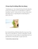 10 mẹo giúp loại bỏ những đốm tàn nhang