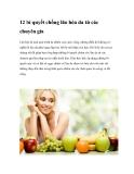 12 bí quyết chống lão hóa da từ các chuyên gia