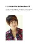 6 bước trang điểm cho bạn gái mùa hè