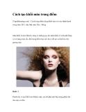 Cách tạo khối màu trang điểm (Tapchilamdep.com) - Cách trang điểm dùng khối màu