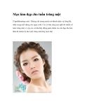 Mẹo làm đẹp cho tuần trăng mật (Tapchilamdep.com) - Không chỉ mong muốn trở thành