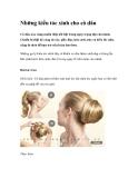 Những kiểu tóc xinh cho cô dâu