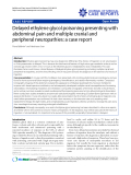 """Báo cáo y học: """"Delayed ethylene glycol poisoning presenting with abdominal pain and multiple cranial and peripheral neuropathies: a case report"""""""
