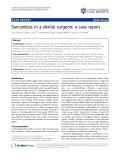 """Báo cáo y học: """"Sarcoidosis in a dental surgeon: a case report"""""""