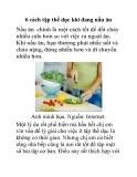 6 cách tập thể dục khi đang nấu ăn