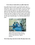 Cách chăm sóc bệnh nhân sau phẫu thuật tim
