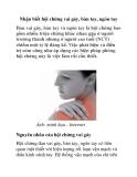 Nhận biết hội chứng vai gáy, bàn tay, ngón tay