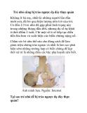 Trẻ nhỏ cũng bị trào ngược dạ dày thực quản