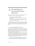 ENVIRONMENTAL IMPACT STATEMENTS - CHAPTER 2