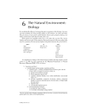 ENVIRONMENTAL IMPACT STATEMENTS - CHAPTER 6
